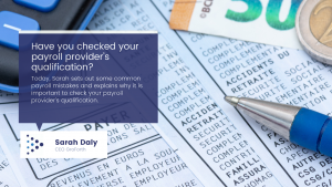 Is your Payroll provider qualified?