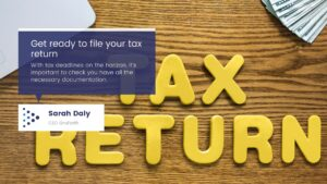Preparing for Irish Tax Return Season